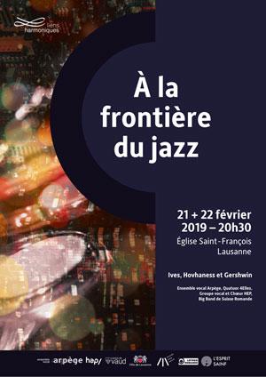Affiche de l'évènement Groupe vocal et Chœur HEP – À la frontière du jazz