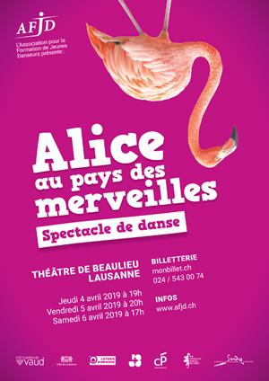 Affiche de l'évènement Spectacle de danse – Alice au Pays des Merveilles