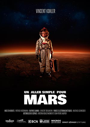 Affiche de l'évènement Humour – Un aller simple pour Mars