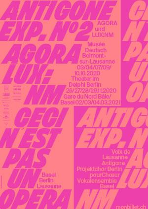 Affiche de l'évènement Théâtre immersif – Antigone Exp. N°2