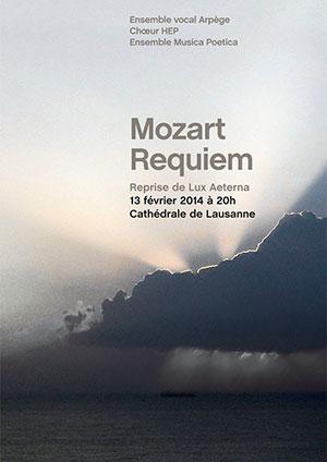 Affiche de l'évènement Musique classique – Requiem de Mozart