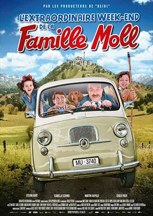 Affiche de l'évènement Aventiclap – Festival du Film Avenches – L'Extraordinaire Week-end de la famille Moll