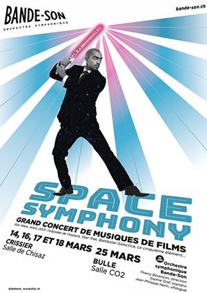 Affiche de l'évènement Orchestre symphonique Bande-Son – Space Symphony