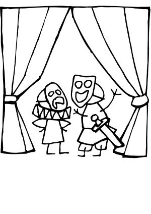 Affiche de l'évènement Théâtre – création – Les quatre doigts et le pouce