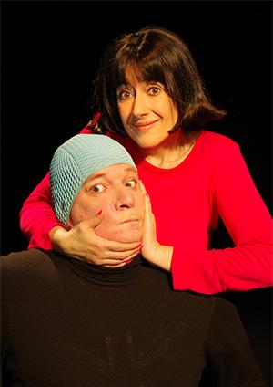 Affiche de l'évènement Théâtre – Jamais sans lui (mais tout sur mammaire…)
