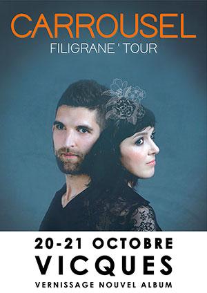 Affiche de l'évènement Filigrane'Tour – Carrousel