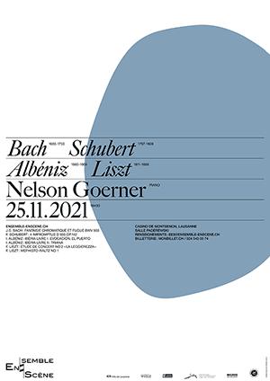 Affiche de l'évènement Ensemble enScène – Carte blanche à Nelson Goerner