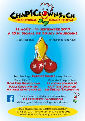 Affiche de l'évènement Festival International de clowns – Chapiclowns