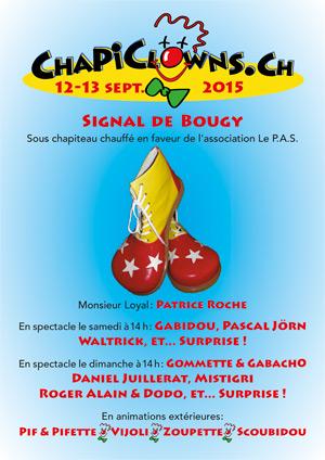 Affiche de l'évènement Festival – Chapiclowns