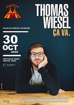 Affiche de l'évènement ChapiShow Festival – Thomas Wiesel