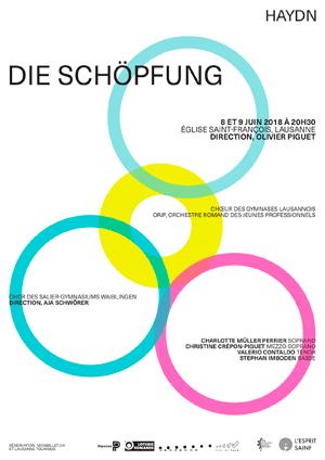 Affiche de l'évènement Concert annuel – Chœur des Gymnases Lausannois