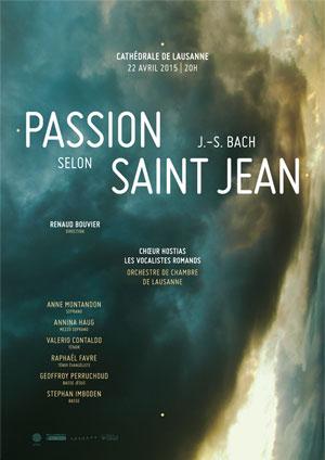 Affiche de l'évènement Chœur Hostias – J.-S. Bach, Passion selon Saint Jean