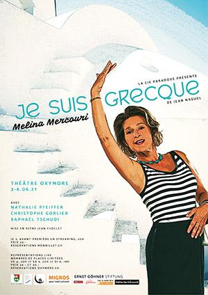Affiche de l'évènement Melina Mercouri – Je suis Grecque