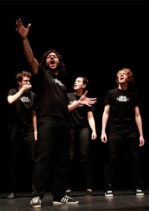 Affiche de l'évènement Soirée du don – La Comédie Musicale Improvisée