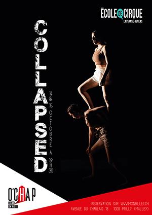Affiche de l'évènement École de Cirque Lausanne-Renens – Collapsed