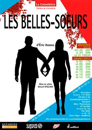 Affiche de l'évènement Comédie d'Eric Assous – Les Belles-Sœurs