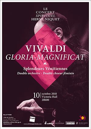 Affiche de l'évènement Le Concert Spirituel – Splendeurs vénitiennes: Vivaldi, Gloria - Magnificat