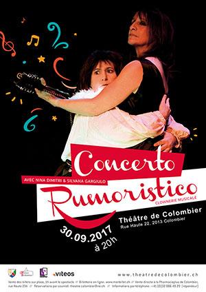 Affiche de l'évènement Nina Dimitri & Silvana Gargiulo – Concerto Rumoristico