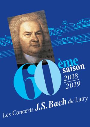 Affiche de l'évènement Concerts J.S. Bach de Lutry - 60e saison – Passion St-Matthieu de J.S. Bach