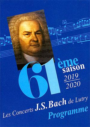 Affiche de l'évènement Concerts J.S. Bach de Lutry - 61e saison – Orchestre de chambre de Genève & Estelle Revaz