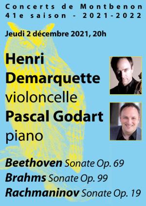 Affiche de l'évènement 40e saison des Concerts de Montbenon – Christian Chamorel