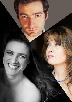 Affiche de l'évènement Avec Jocelyne Lucas, Céline Mata, Samuel Liégeon – Les plus beaux Ave Maria, par le Trio Amavoce