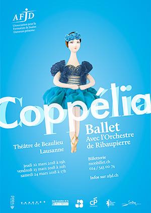 Affiche de l'évènement Spectacle de danse – Coppélia