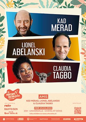 Affiche de l'évènement Les Cultur@iles - Théâtre – Amis