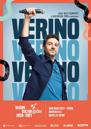 Affiche de l'évènement Les Cultur@iles - Humour – Verino