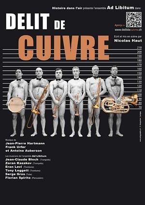 Affiche de l'évènement Musique et humour – Délit de cuivre