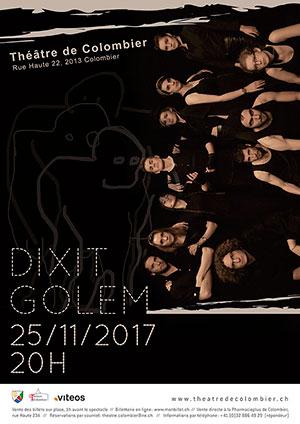 Affiche de l'évènement Improvisation théâtrale – Dixit Golem