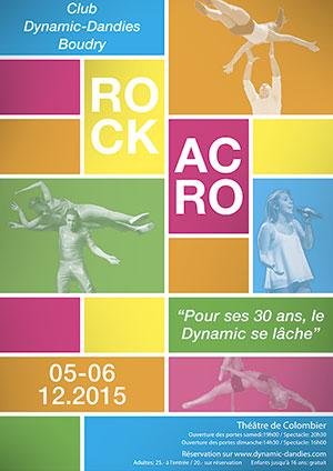 Affiche de l'évènement Rock acrobatique – Le Dynamic se lâche!