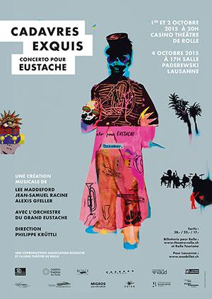 Affiche de l'évènement Eustache – Cadavres exquis