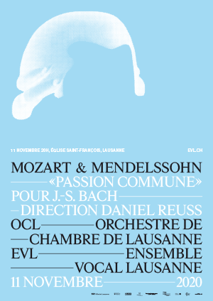 Affiche de l'évènement Ensemble Vocal de Lausanne – Mozart & Mendelssohn: Passion commune