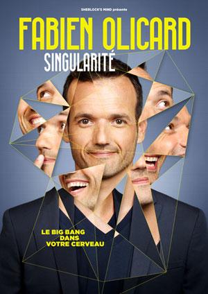 Affiche de l'évènement Fabien Olicard – Singularité