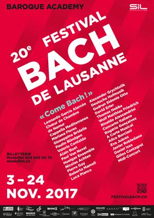 Affiche de l'évènement Festival Bach – Sospiri