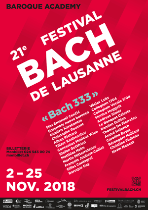 Affiche de l'évènement Festival Bach - concert 6 – The Journey to Bach