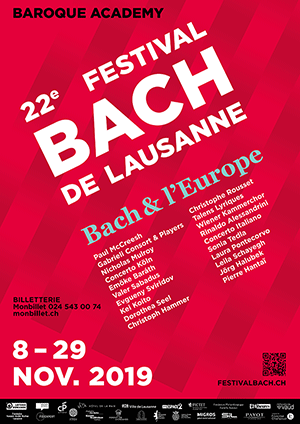 Affiche de l'évènement Festival Bach - concert 8 – Two for Bach