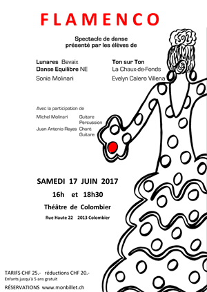 Affiche de l'évènement Spectacle de danse – Flamenco