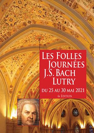 Affiche de l'évènement 6ème édition – Les Folles Journées J.S. Bach de Lutry