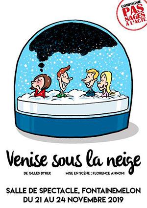 Affiche de l'évènement Par la Compagnie Pas Sages à l'Acte – Venise sous la neige
