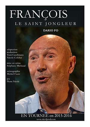 Affiche de l'évènement Conte irrévérencieux – François, le Saint Jongleur