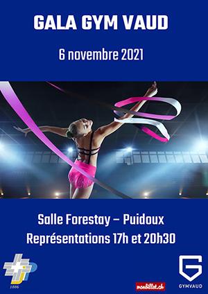 Affiche de l'évènement FSG Vevey Jeunes-Patriotes – Gala de Gym Vaud
