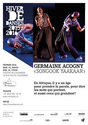 Affiche de l'évènement Germaine Acogny – Songook Yaakar