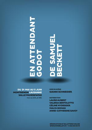 Affiche de l'évènement Cie Gianni Schneider – En attendant Godot de Samuel Beckett