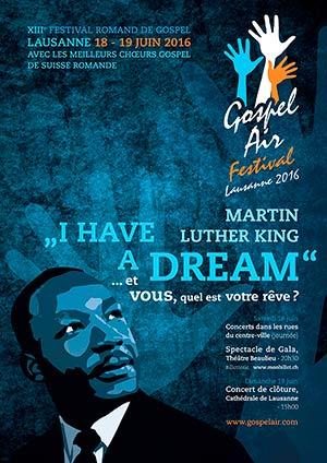Affiche de l'évènement Spectacle de gala – Gospel Air 2016
