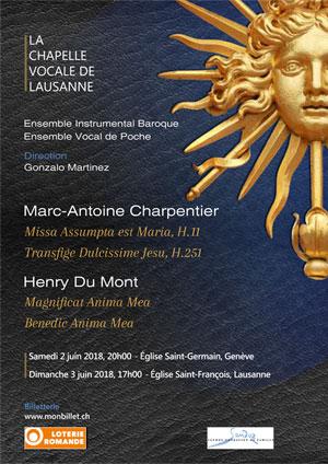 Affiche de l'évènement La Chapelle Vocale de Lausanne – Le Grand Siècle à Versailles