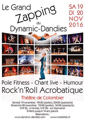 Affiche de l'évènement Dynamic Dandies – Le Grand Zapping