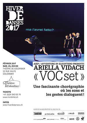 Affiche de l'évènement Ariella Vidach – VOCset