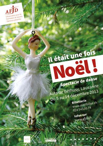 Affiche de l'évènement Danse – Il était une foisNoël!